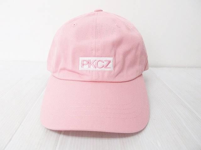未使用品 PKCZ LOWCAP-BOX LOGO キャップ 帽子 ボ...