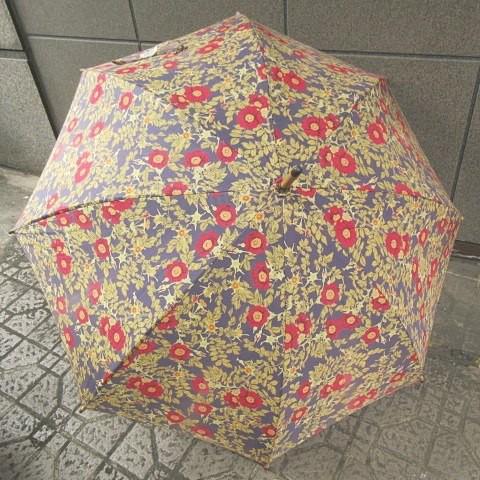 【中古】ピンクハウス PINK HOUSE 日傘 花柄 薔薇...