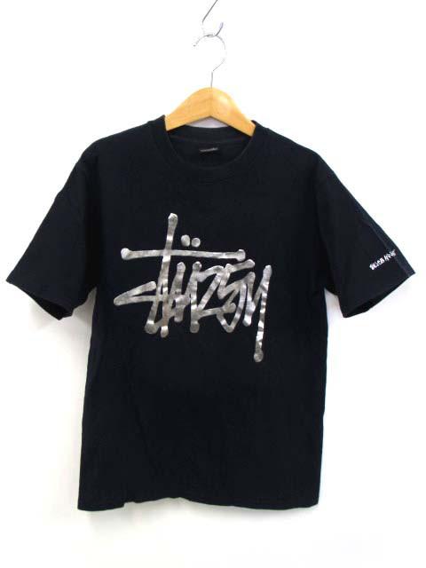 ステューシー STUSSY Tシャツ カットソー ロゴ プ...