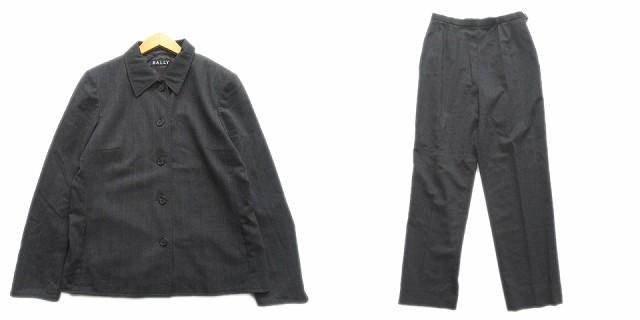 【中古】バリー BALLY ストライプ スーツ セット...