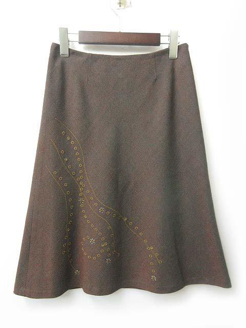 DOLLY SEAN ドリーシーン スカート ウール 刺繍 ...