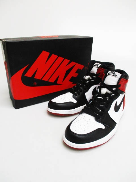 ナイキ NIKE AIR JORDAN 1 RETRO HIGH OG つま黒 ...