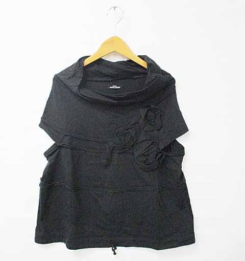 トリココムデギャルソン コサージュ Tシャツ S 黒...
