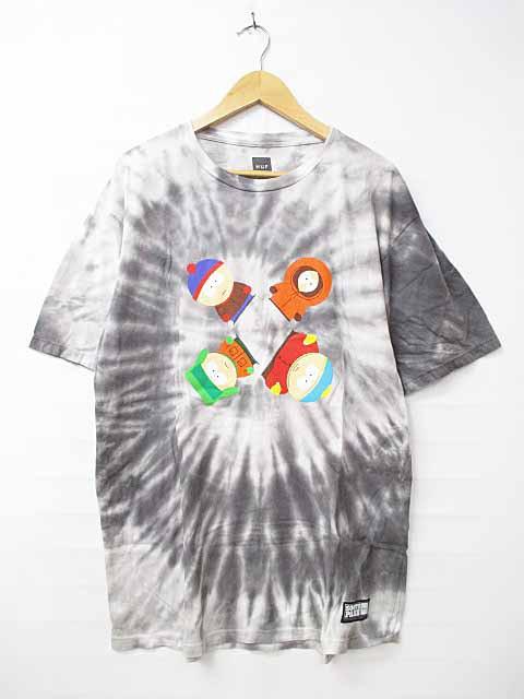 ハフ HUF South Park Trippy Tie Dye S/S T-Shirt...