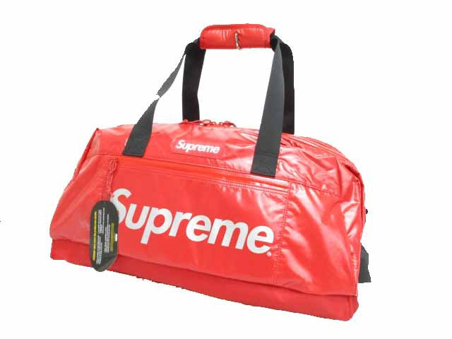 シュプリーム SUPREME 17AW Duffle Bag Red ORDUR...