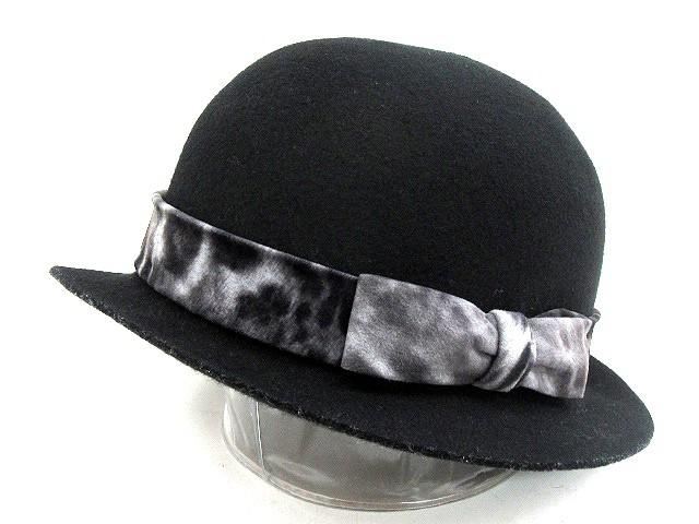 サブサエティ SUBCIETY リボン付き 帽子 ボーラー...