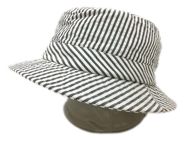 3603440eb85 シュプリーム SUPREME × ブルックスブラザーズ Brooks Brothers 帽子 バケットハット ストライプ S M 白 グレー