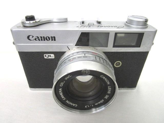 キヤノン Canon キャノネット Canonet QL17 フィ...