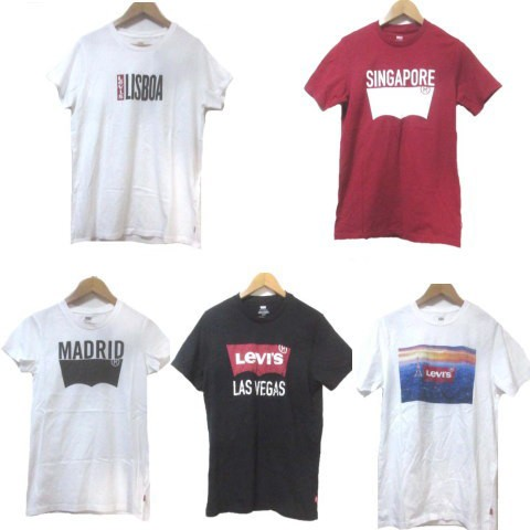 【中古】未使用品 リーバイス Levi's Tシャツ セ...