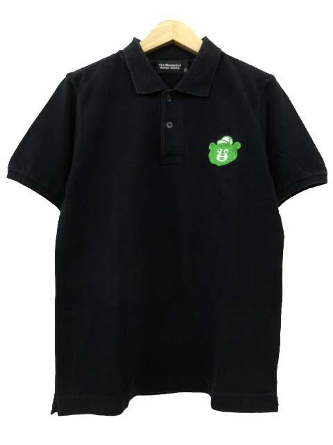 ビームスティ BEAMS T ポロシャツ 半袖 クマ刺繍 ...