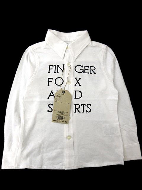 未使用品 フィンガーフォックスアンドシャツ キッ...