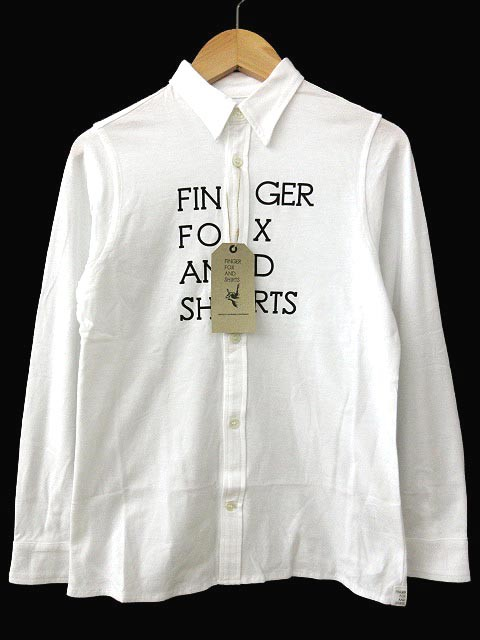 フィンガーフォックスアンドシャツ キッズ 30/- ...