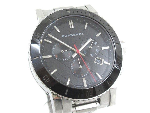 バーバリー BURBERRY クロノグラフ 腕時計 THE CI...