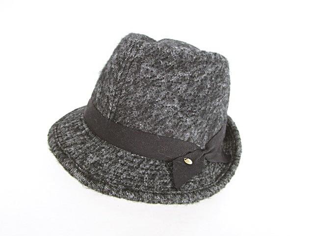 カシラ CA4LA 中折れハット 帽子 グログランリボ...