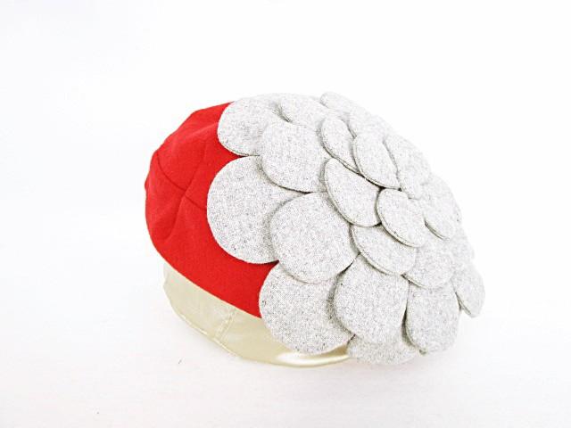 Shoko お花ベレー ベレー帽 帽子 花モチーフ 大き...