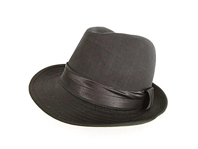 Kabeza 中折れハット 帽子 サテンリボン チェック...