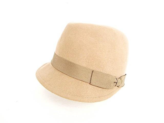 キャップ 中折れ 帽子 キャスケット グログランリ...