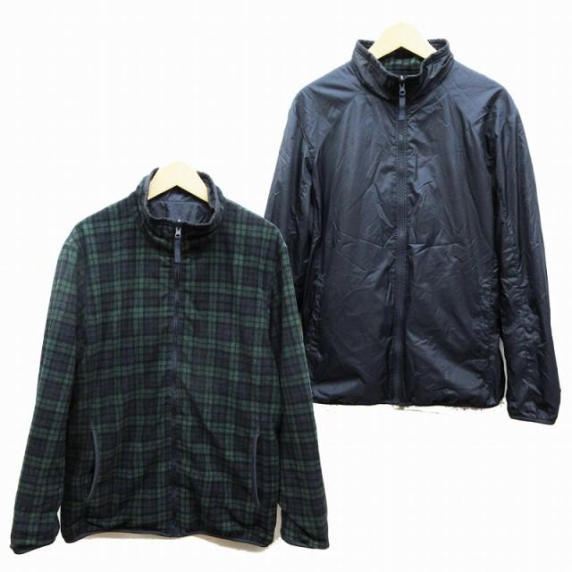 【中古】ユニクロ UNIQLO リバーシブル ジャケッ...