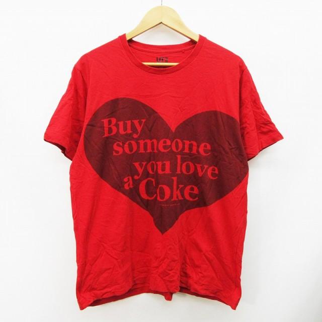【中古】ユニクロ UNIQLO コカコーラ Coca Cola T...