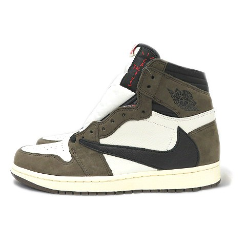 buy online 94a6d 0de41 ナイキ NIKE 19SS AIR JORDAN 1 RETRO HIGH OG TRAVIS SCOTT CACTUS JACK CD4487-100