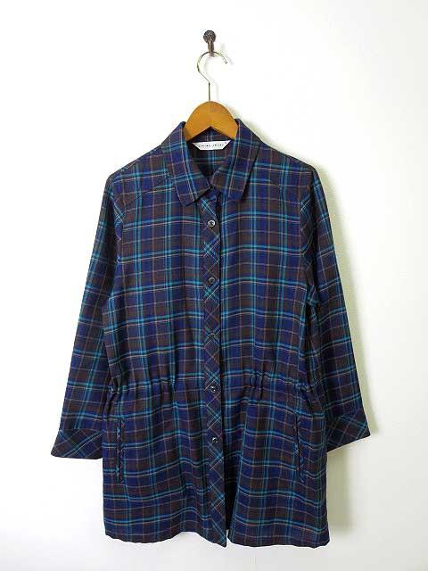 【中古】チャージ CHARGE チュニック シャツ ブラ...