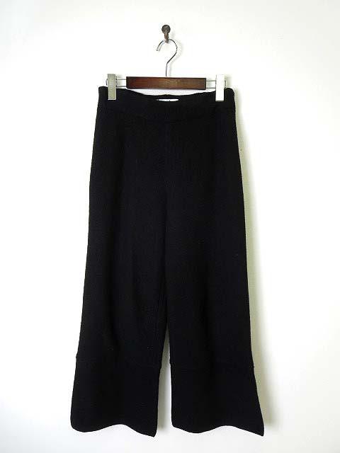 【中古】AMANDULA パンツ ウール 裾スリット 38 M...