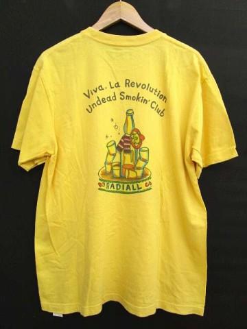 ラディアル RADIALL 13SS Tシャツ 半袖 ロゴプリ...