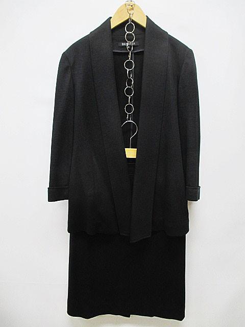 【中古】ベラルディ BERARDI スカートスーツ 2 黒...