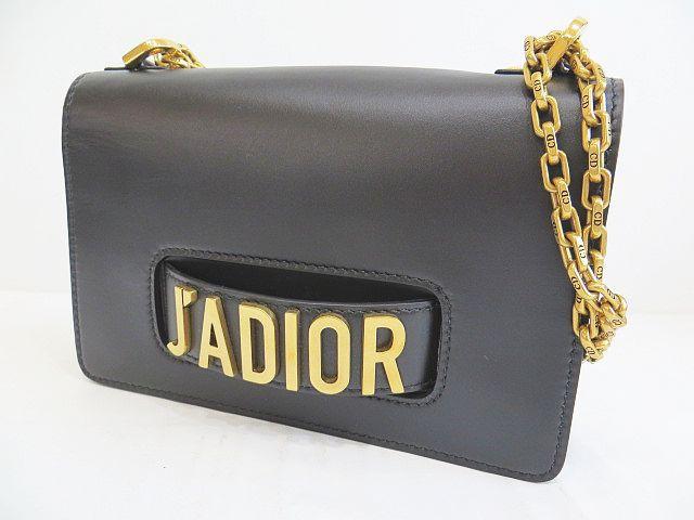 best service 90905 72f77 【中古】ディオール Dior J'ADIOR ジャディオール チェーンフラップバッグ ブラック 2WAY ショルダーバッグ クラッチ au  Wowma!(ワウマ)