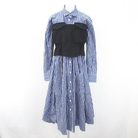 【中古】サカイ sacai Cotton Poplin Dress 19-04...