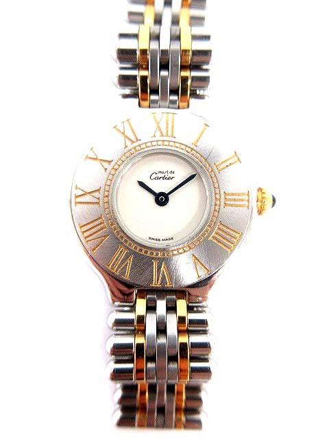 カルティエ Cartier 腕時計 マスト21 SM ヴァンテ...