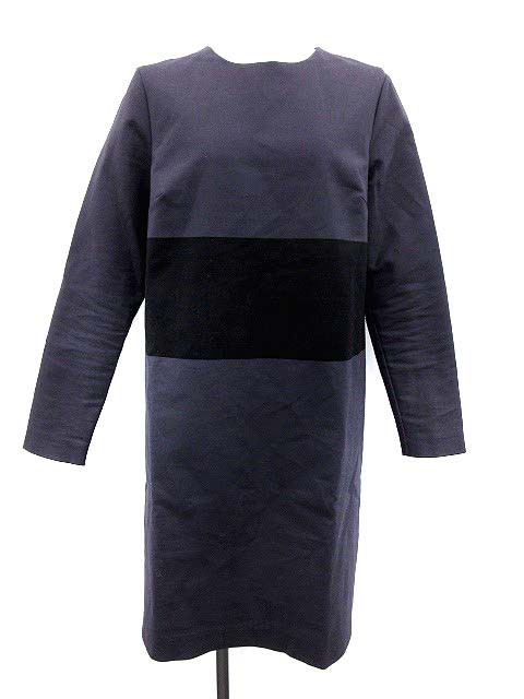 マリメッコ marimekko ワンピース 長袖 38 チャコ...