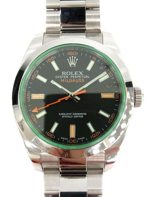 ロレックス ROLEX 腕時計 ミルガウス オイスター ...