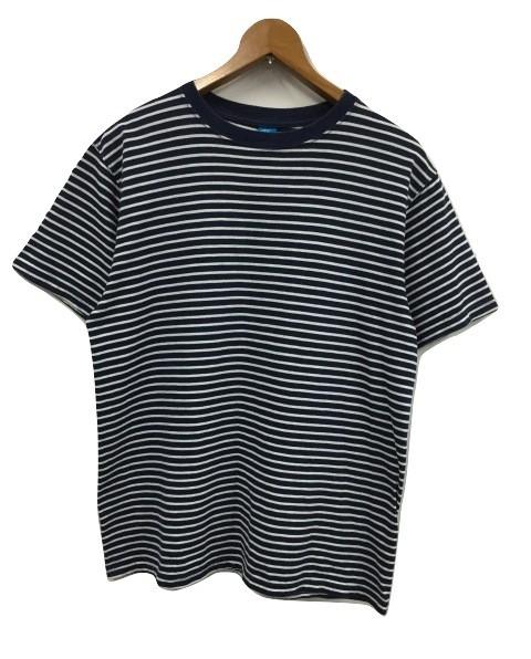 【中古】グッドオン GOOD ON 半袖ボーダーTシャツ...