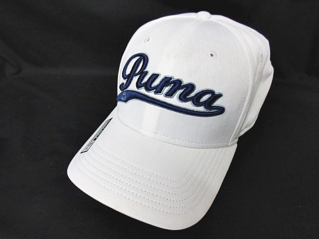 プーマ PUMA ゴルフ キャップ ロゴ 刺繍スナップ...