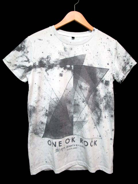 ONE OK ROCK ワンオク Tシャツ 半袖 10th Anniver...