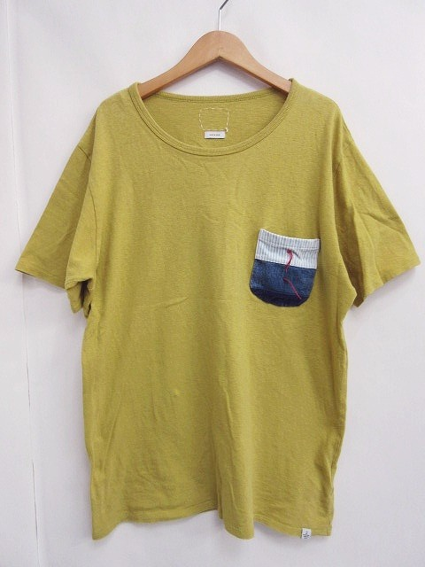 ビズビム VISVIM KNOTTED POCKET TEE Tシャツ ポ...