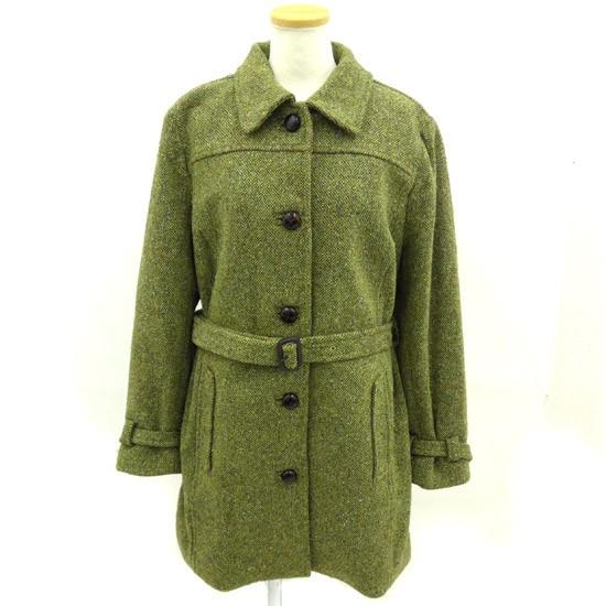 エルエルビーン L.L.BEAN コート 絹混み 緑 M 180...