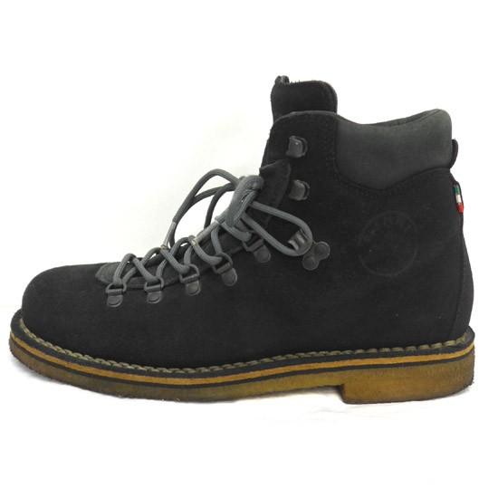 ディエッメ DIEMME ブーツ スエード 黒 43 靴 180...