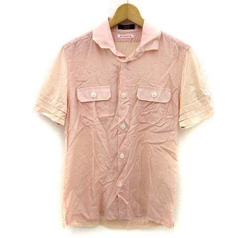 タケオキクチ TAKEO KIKUCHI ワークシャツ 半袖 ...