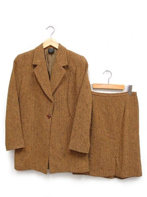 【中古】L&P Club スカートスーツ セットアップ ...
