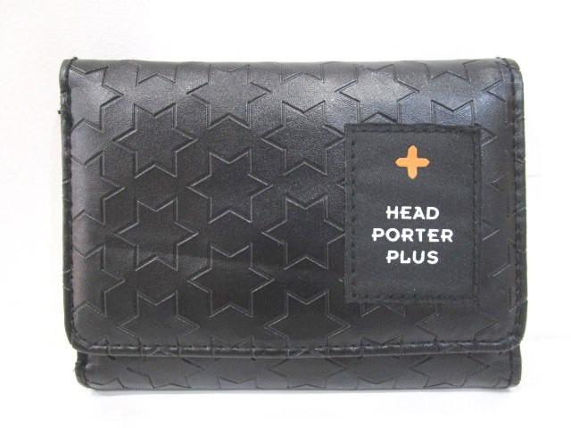 ヘッドポータープラス HEAD PORTER PLUS 三つ折り...