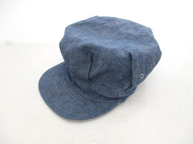 ビームスプラス BEAMS+ キャップ 帽子 シャンブレ...