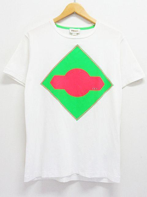 ディーゼル DIESEL Tシャツ カットソー プリント ...