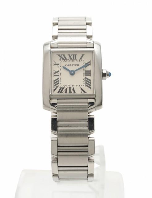 【中古】カルティエ Cartier 腕時計 タンクフラン...