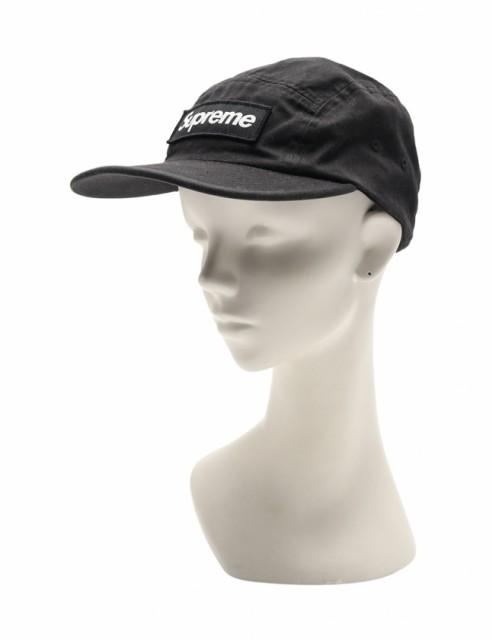 【中古】シュプリーム SUPREME 帽子 キャップ 黒 ...