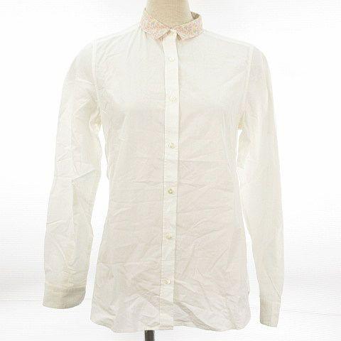 SOLEIADO シャツ ブラウス 長袖 白 1 *A89 レディ...