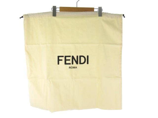 【中古】未使用品 フェンディ FENDI 保存袋 巾着 ...