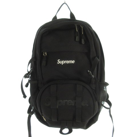 【中古】シュプリーム SUPREME Backpack バックパ...