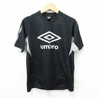 【中古】UMBRO スポーツウェア Tシャツ 半袖 丸首...